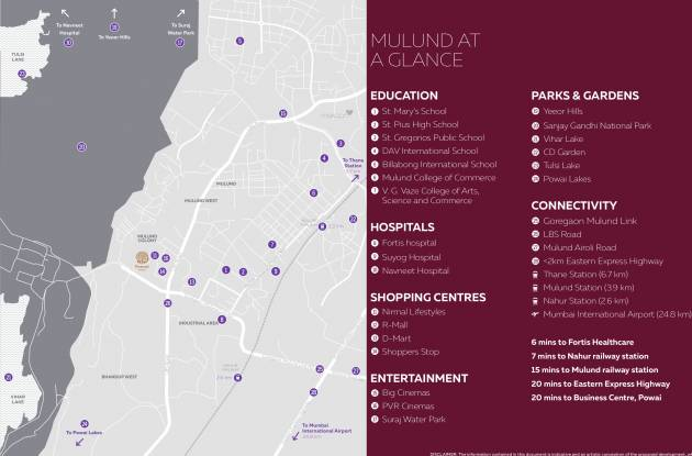 Piramal Revanta Location Plan