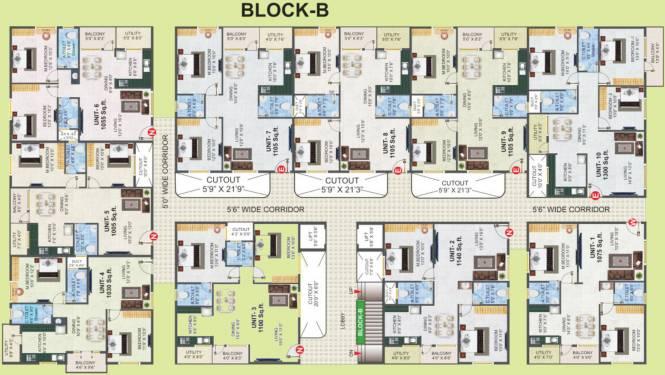 Mahaadeva My Nest Cluster Plan