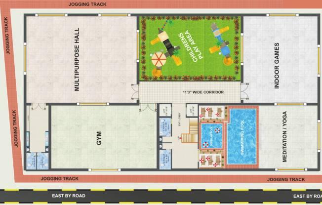 Mahaadeva My Nest Site Plan