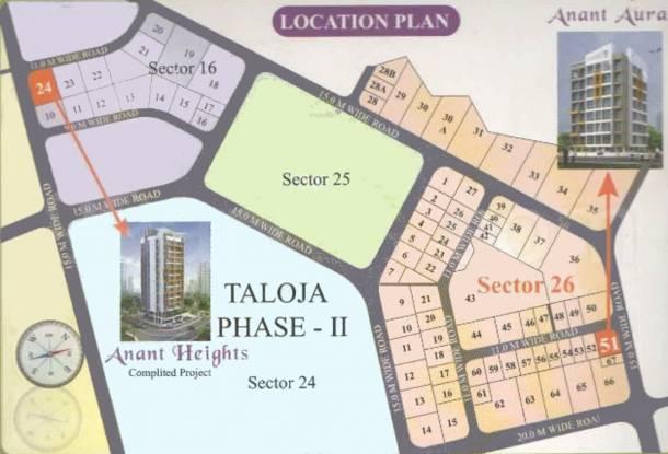 Anant Aura Location Plan