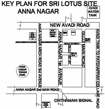 Sri Lakshmi Ram Constructions Sri Srinivasa Site Plan