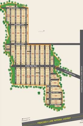 Siva Highway City Layout Plan