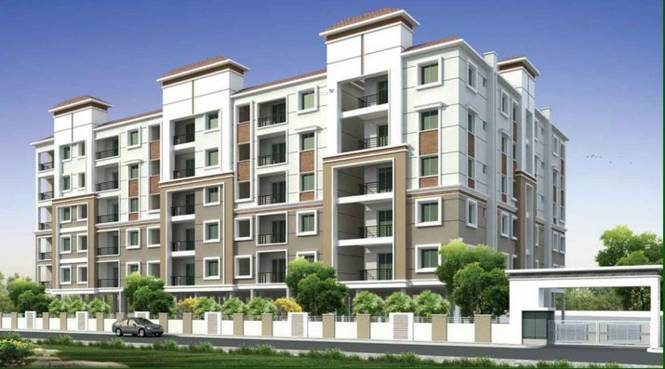 Surya Royal Green City Elevation