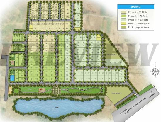 TATA Crescent Enclave Layout Plan