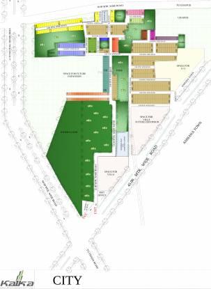 Kalka Kalka City Layout Plan