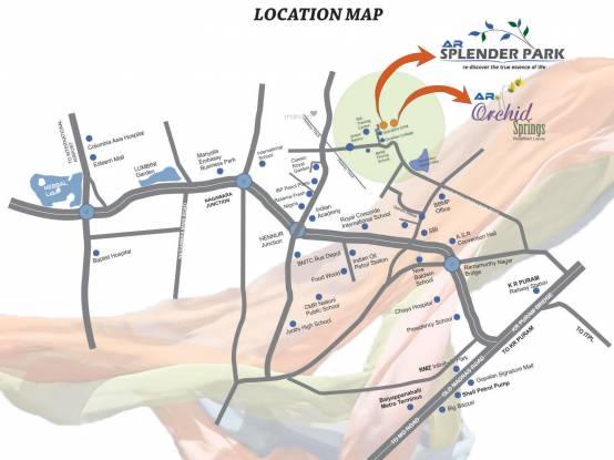 Star AR Splendor Park Location Plan