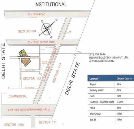 Zara Rossa Location Plan