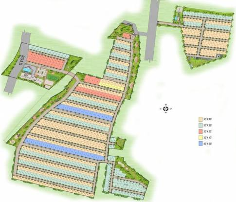 Reliaable Dollar Colony Master Plan