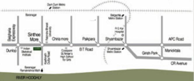 Ambuja Uddipa Location Plan