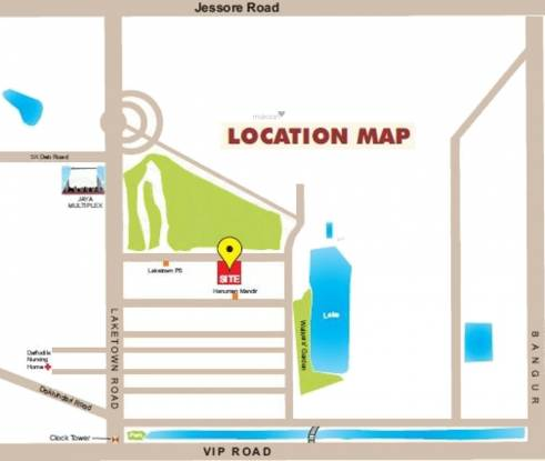 Tirath Aawas Location Plan