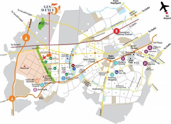 GLS Avenue 51 Location Plan