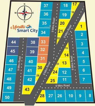 U3 Maruthi Smart City Layout Plan