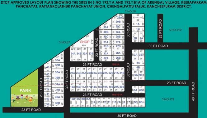 Amazze Greenpark Layout Plan