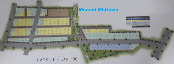 Manani Midtown Layout Plan