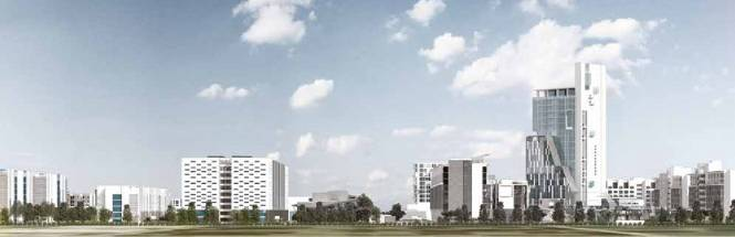 Viridian The Quad Residences Elevation