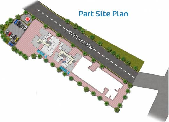 HDIL The Nest Site Plan