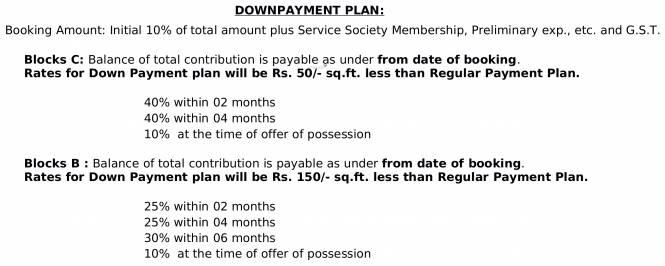 Bakeri Shaunak Payment Plan