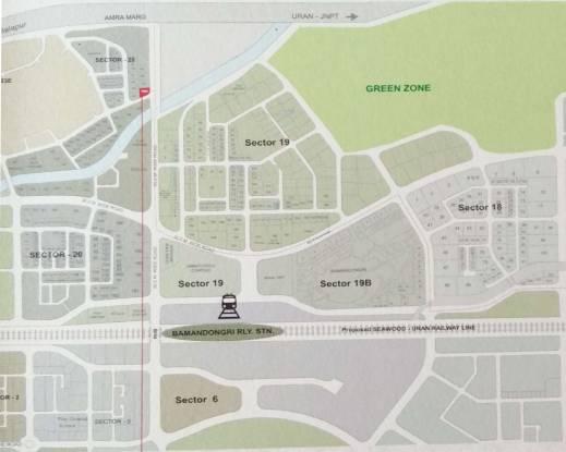 Neelkanth Aura Location Plan