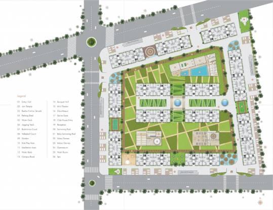 Avadh Copper Stone Site Plan
