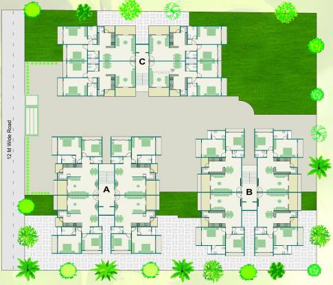 Khyati Green Leaves Layout Plan