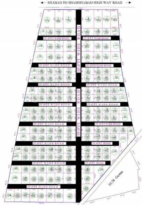 Sawera Singapore City Layout Plan