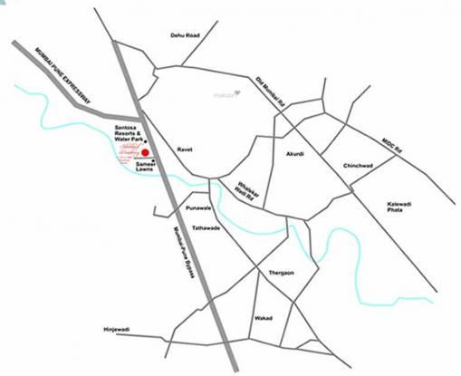 GK Silverland Residency Phase 1 Location Plan
