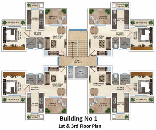 Space Sai Prasad Gardens Cluster Plan