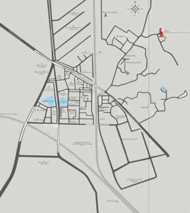 Space Sai Prasad Gardens Location Plan