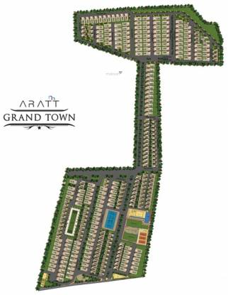 Aratt Grand Town Plot Layout Plan