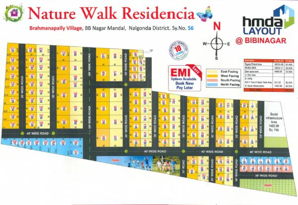 Young Nature Walk Residencia Layout Plan