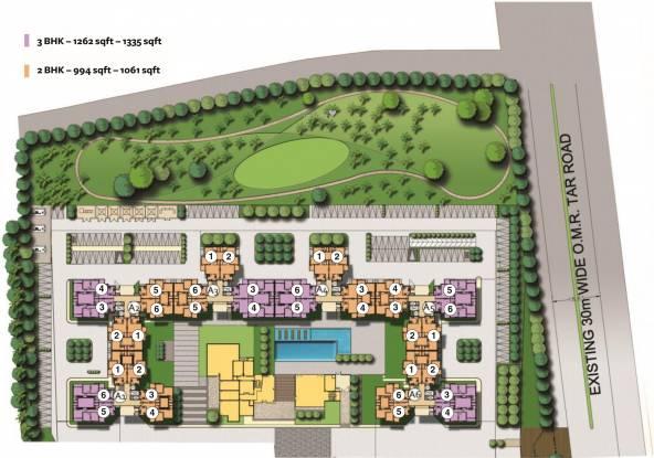 Akshaya Orlando Site Plan