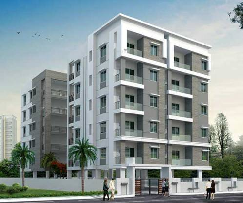 Rohini PRK Naganand Towers Elevation