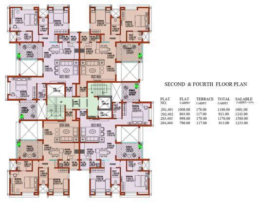 The Nest Constructions Prasad Cluster Plan