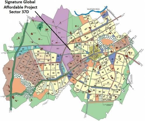 Signature The Millennia Location Plan