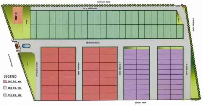 Samiah Media Village Site Plan