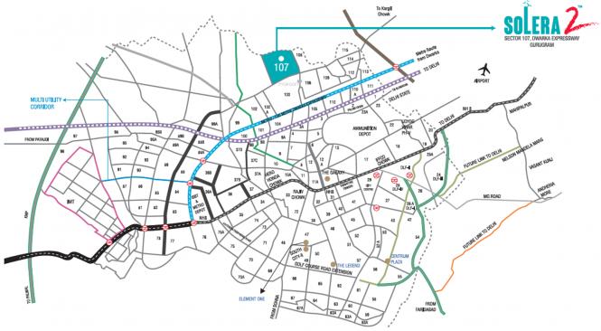 Signature Solera 2 Location Plan