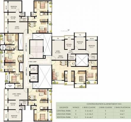 Ekta Parksville Phase III Cluster Plan