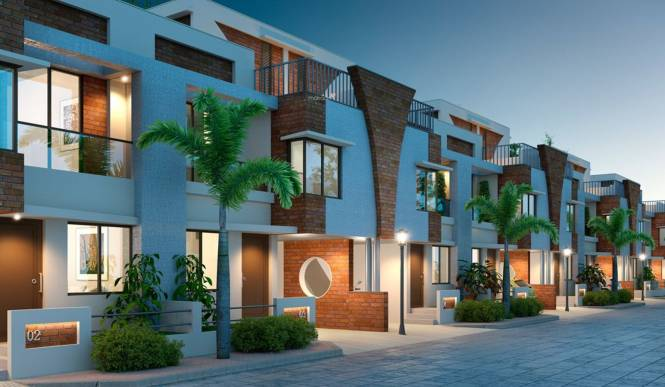 Pratham Riviera Villas Elevation