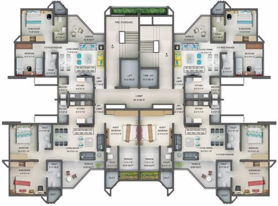 Naiknavare Avon Vista Project 1 Cluster Plan