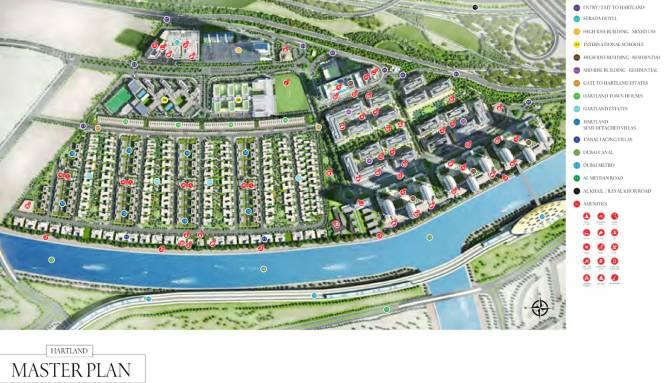 Sobha Limited Hartland Master Plan
