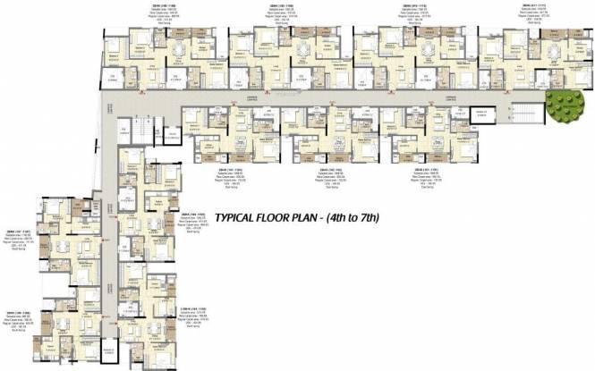 DRA 90 Degrees Cluster Plan