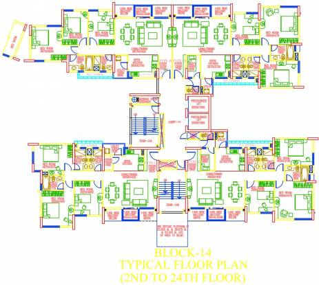 Elita Garden Vista Phase 1 Cluster Plan