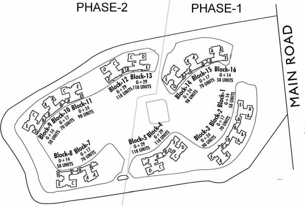 Elita Garden Vista Phase 1 Site Plan
