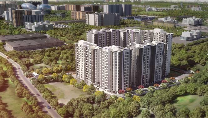 Saheel Itrend Homes Phase I Elevation
