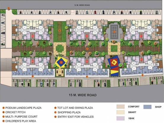 Naiknavare Dwarka Project 4 Layout Plan