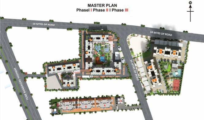 Pristine Prolife III Layout Plan