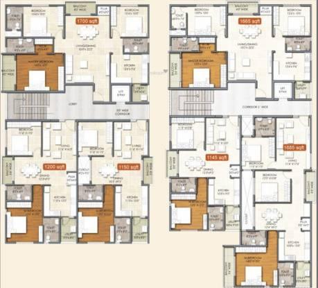 LVR Residency Cluster Plan