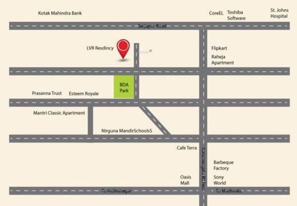 LVR Residency Location Plan