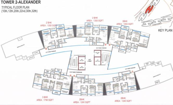 Paradise Sai World Empire Cluster Plan