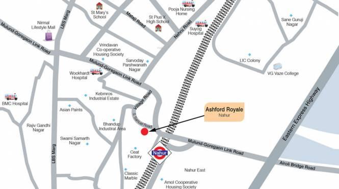 Ashford Royale Tower A Location Plan